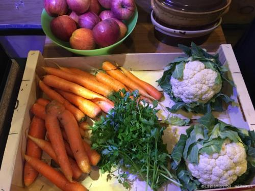 Priorité aux produits locaux avec les légumes du marché