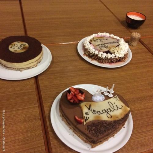 Assortiment de gâteaux d'anniversaires