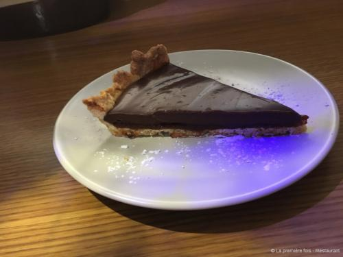 Tarte chocolat et caramel